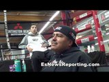 robert garcia: pacquiao vs vargas will happen & why is ruslan only calling out haymon fighters?