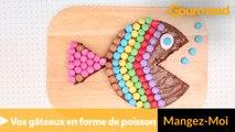 Décorez vos gâteaux en forme de poisson ; )