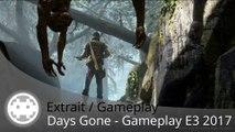 Extrait / Gameplay - Days Gone - 1000 Zombies et un Ours Affamé - E3 2017