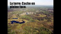 La Terre: Destruction cache par Google Terre