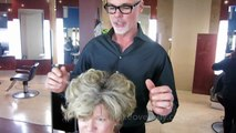 MAKEOVER: EXTREMELY THICK COARSE HAIR!! by Christopher Hopkins, The Makeover Guy