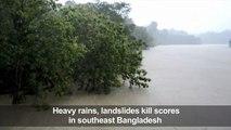 Heavy rains, landslides kill scores in Bangladesh