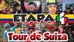 Etapa 4 del Tour Suiza 2017 - Últimos 5 km- Clasificación General - Damiano Caruso  Lider