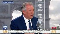François Bayrou, invité de Bourdin Direct sur BFMTV - 060617