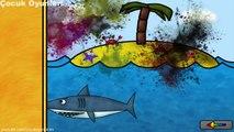 Balina,Penguen,Fok Balığı,Penguen,Köpek Balığı Puzzle Oyunu,Çocuklar için çizgi filmler izle 2017