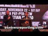 Vasiliy Lomachenko boxing champ full Post Fight Presser - esnews boxing