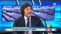 Debate económico entre Javier Milei y Lucio Di Matteo en A24 (Sos muy ignorante Lucio)
