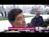 Maradona dice que el futbol argentino ha quebrado