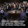 4 key takeaways from Jeff Sessions' testimony on the Trump-Russia probe [Mic Archives]