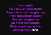 Los Tucanes De Tijuana - Amor Descarado (versión Pop) (Karaoke)