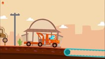 Dinosaur Rescue Tractors - Kids Learn About Rescue Vehicles - Educa