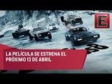 Rápidos y furiosos 8 llega a los cines mexicanos