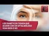 Cuidado de los ojos en pacientes con diabetes