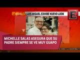 Luis Miguel exhibe su nuevo look y su hija lo apoya