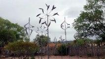 Eoliennes de Santa Fe - Nouveau Mexique