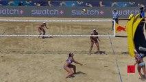 Beach Volleyball Girls MenegattiOrsi Toth Nice Rallies