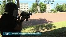 Exercice attaque terrorisme à l'ENSP