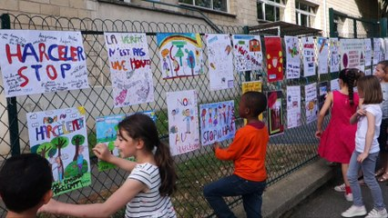 Les élèves Lilasiens contre le harcèlement
