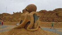 Sculptures de sables géantes au Danemark ! Pas comme à la plage LOL