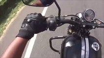 134.Harley Davidson Street 750 Acceleration_Top Speed Attempt