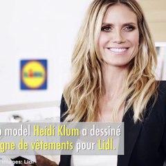 Heidi Klum aura sa propre ligne de vêtements... chez Lidl!