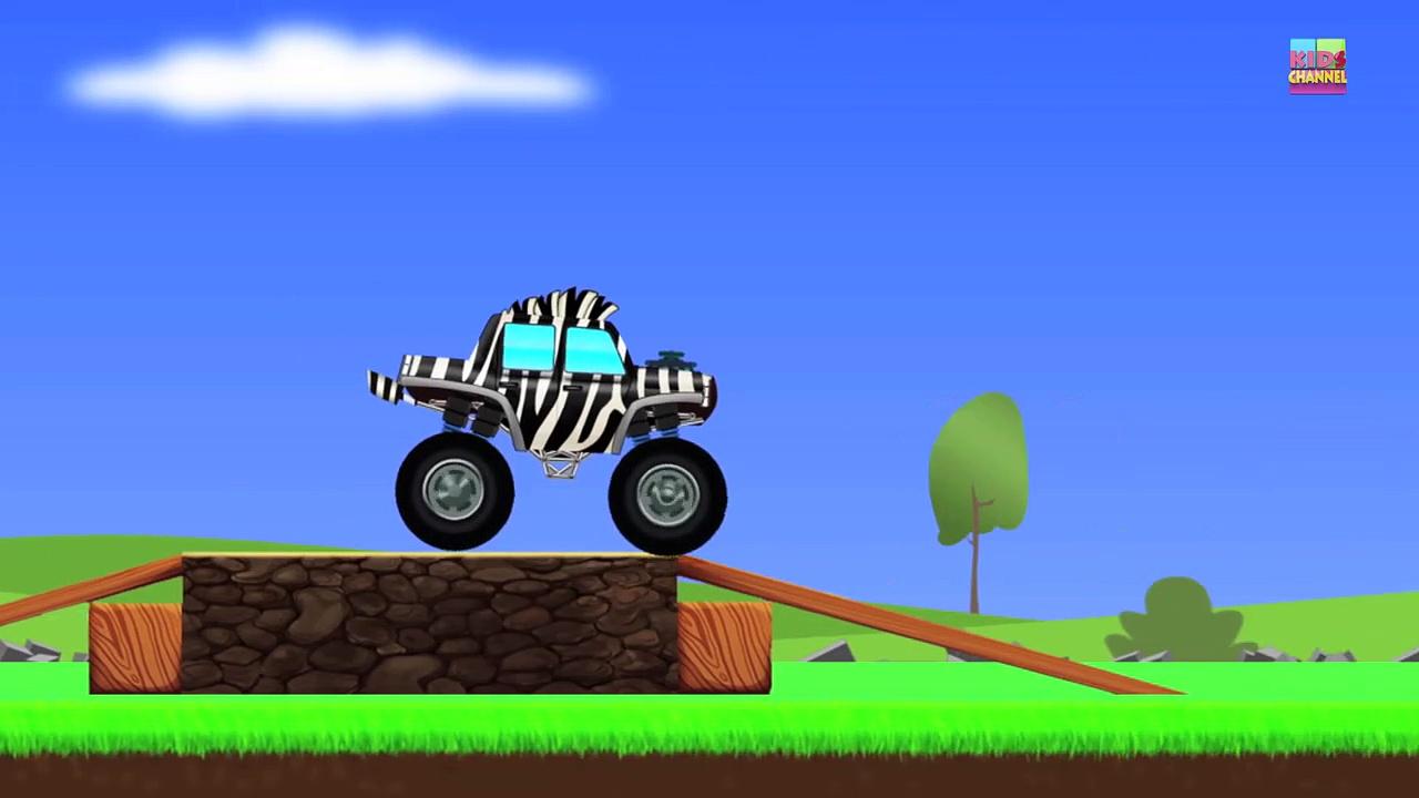Monster Trucks _ Zebra Trucks _ Car And Truck-FlkjYs_jx8E