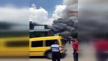 Ankara OSB'de patlama meydana geldi