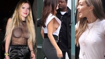 Hollywood Celebs Who Opts Out Wearing Undergarments
