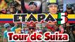 Etapa 5 del Tour Suiza 2017 - Últimos 10 km -Damiano Caruso Líder