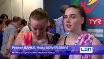 European Diving Championships - Kyiv 2017, Ruby BOWER, Phoebe BANKS (GBR) - Winners of Synchronised Platform Women