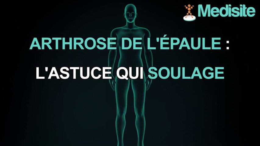 Arthrose de l'épaule : l'astuce qui soulage