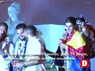 Real Madrid, el nuevo campeón del fútbol español