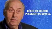 Décès de Pierre Papillaud, célèbre président de l'eau Rozana