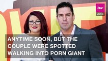 Amber Portwood & Her BF Spotted At Porn Giant Vivid Entertainment