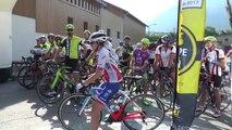 Alpes du Sud : les équipes du Tour de France en reconnaissance au col de l'Izoard