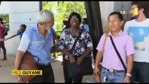Images et interview de ma nièce Alice pour Midi 1ère Guyane - Une dizaine d'enseignants soutiennent leur collègue affecté à contre coeur en métropole