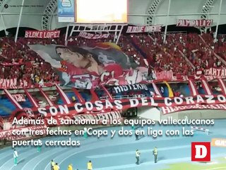 Polémica sanción de la Dimayor por desmanes en partido de Copa