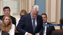 Loi 101: Échange entre Philippe Couillard et Jean-François Lisée