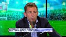 Gilbert Brisbois et Daniel Riolo débattent sur le bilan de Noël Le Graët
