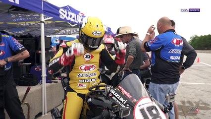 Rochelle Simms Dunlop M4 Suzuki Two-Seat Suzuki Superbike