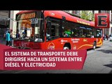 Expertos impulsan un Metrobús híbrido para reducir contaminación