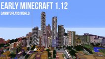 Minecraft: A timelapse of my Minecraft City growth, 2013 - 2017, years of progress