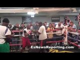 floyd mayweather training justin bieber - fernando vargas wants his son to fight the singer