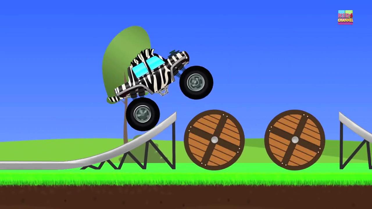 Monster Trucks _ Zebra Trucks _ Car And Truck-FlkjYs_j