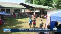 Airstrikes sa Marawi City vs Maute Group, patuloy; Rehabilitasyon, pinaghahandaan