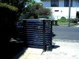 Ri-cals Telescopic Sliding Gate - Closing