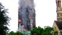 London tower fire: People were 'jumping out of windows'