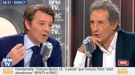 Baroin : «Non, je ne voterai pas la confiance»