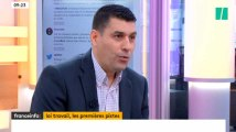 La question qui fâche du HuffPost à la CGT sur la réforme  du code du travail sur Franceinfo