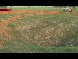 Kaolack/Keur Paffa Boury: La terre glisse et engloutit des terres cultivées ( regardez)